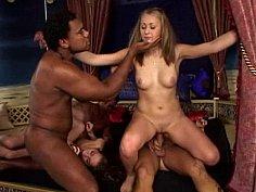 Teen anal sex orgy
