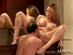 MOM MILF's with big breasts getting fucked