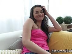 Beautiful ass girlfriend bangs big cock pov