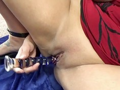 Emma Stoned takes a big cock in her tight twat