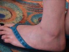 Candid Feet #1