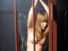 Beautiful lady gets rammed in the prison cell