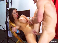 Hardcore fuck with pornstars named Johnny Sins and Melina Mason