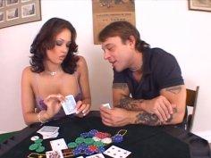 Poker slut Tory Lane gets dirty 69 style fucked