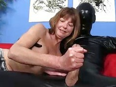 Stranger Comes In Her House All Covered But Dick