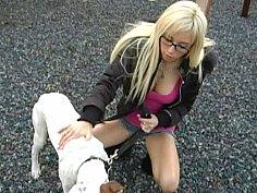 Big titted blonde petite teen Morgan Layne